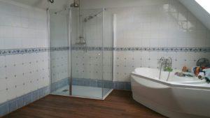 la douche par intérieur design